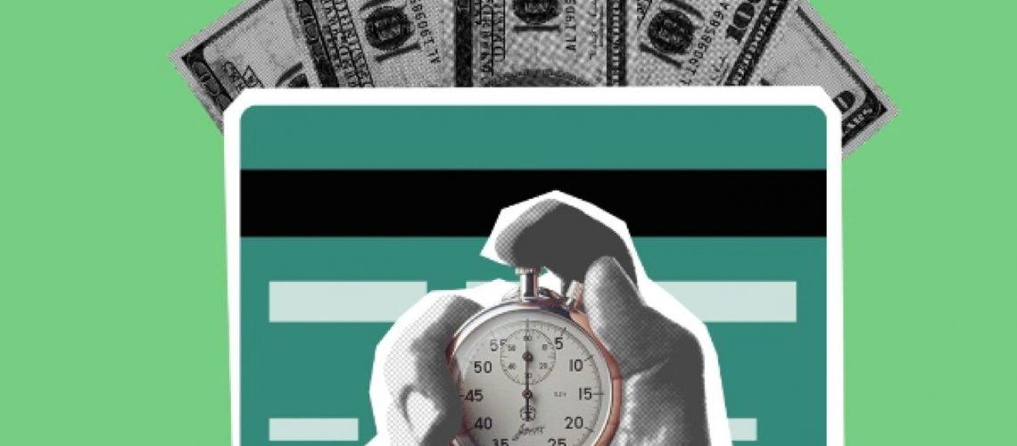 Post - Clock and money